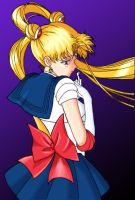 Sailor Scout Colored by Nishomay