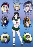 Fandome Kagome colour by Arlome