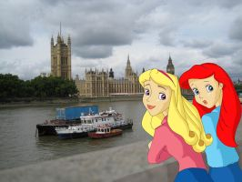 Princesses in London by Anime-Ray
