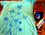 Butterfly T shirt by ZuzanaGyarfasova