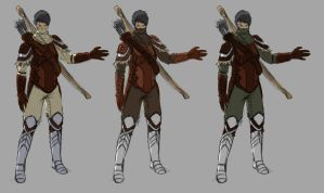 Female hunter color schemes by Dante-mL