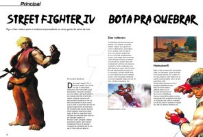 QGcia magazine project pg 6-7 by GusBor