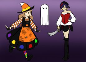 SMV Halloween  Costumes by BishiLover16