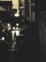 street at night II by s0n-et-lumiere