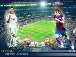 Fc barcelone Vs REAL madrid by Zlatan921