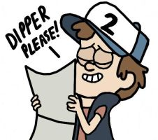 Dipper Please! by Closer-To-The-Sun
