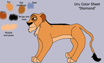 Uru Color Sheet by TLKSadieMutt