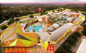 Aerial Colombus Waterpark by vaD-Endz
