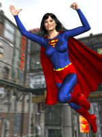 Superwoman Commission 1 by sturkwurk