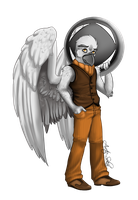 Mr Feathers by Arctic-Sekai