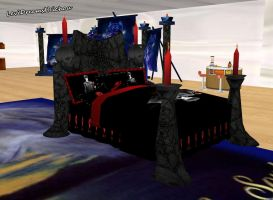 IMVU Products - Death Note Bed by Levi-Ackerman-Heicho