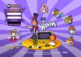 Wonka Products Latin Site by carlospita
