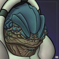 Krogan Detail by Bubasti333
