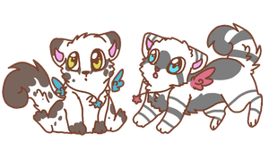 chipmunk adopts by P0CKYY