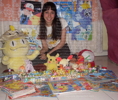 My pokemon collection :3 by Meowzzie