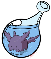222 Corsola Bottle by zobeast