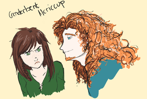 Mericcup Genderbent by xCandySlice