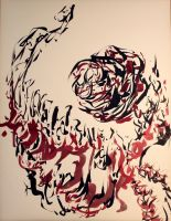 Calligraphic 0 by parmentides
