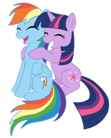 TwiDash hugs by FlachMan