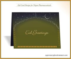 Eid card for a Company by Designbolts