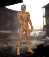 Brad Wong(Nude) Dead or Alive 5 Ultimate by xHildegardVonKronex