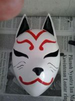 kitsune mask by agoeznagellol
