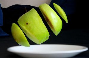 Apple Dissection by Daemare