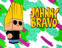 Johnny Bravo Cubee by mikeyplater