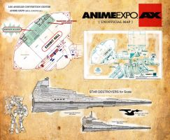 Anime Expo Warhound location by Warhound-CMP