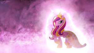 Princess Cadence - Serene Clouds by Jamey4