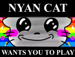 Nyan cat :3 by 4everabooklovergirl2