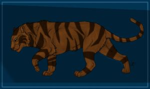 tiger adopt 4 CLOSED by AgmenAdoptables12
