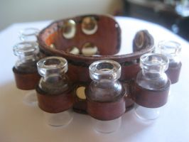 Vials on Hand by passbyguy