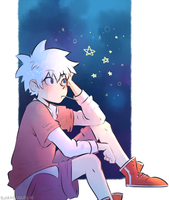 Killua by blargberries