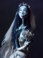 Corpse Bride portrait by Taash