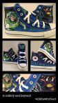Buzz Lightyear Converse by willdrawforfood