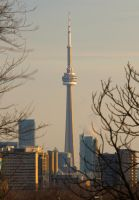 CN Tower from Casa Loma by vmulligan