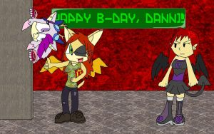 HAPPY B-DAY, DANNI-D :D by PhoenixManX-XL