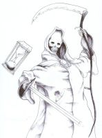 Ballpoint Death by ceraperduta