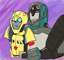 Longarm loves Bumblebee by noisystar
