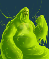 the slime monster by Know-Kname