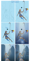 Kida progress by ElasserPrincess