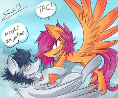 Tag! by Rigiroony