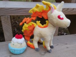 Rapidash The Fire Horse by PlushPrincess