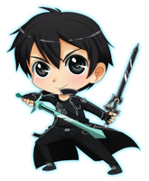 Dual Swords Kirito by Onirin