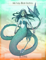 NPC: Ilyssa, Deepsea Council Member by teires