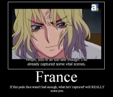 APH Motivation:- France by werewolfpokemon