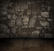 ROCK WALL ROOM by mysticmorning