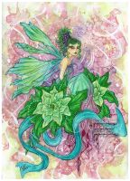 The Green Fairy by Fanhir