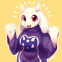 Toriel by Marenlicious